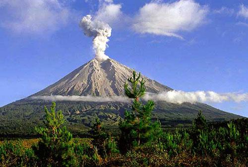 Letak Gunung Semeru