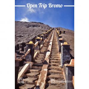 gambar gunung bromo - tangga bromo