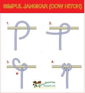 sumber : https://pramukaria.blogspot.co.id/2013/06/membuat-simpul-jangkar-cow-hitch.html